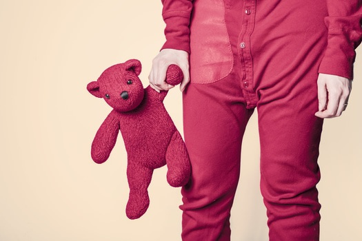 red-bear-child-childhood-medium